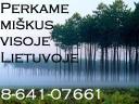 Perk� mišk� su žeme ar išsikirtimui 864107661
