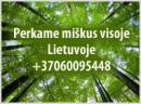 Brangiai perkame mišką Elektrėnų, Trakų, Širv