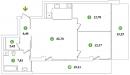Parduodamas naujos statybos 3 kambariu butas